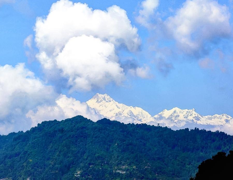 Mountain Kanchenjunga and KanchenjungaDemon